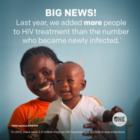 We have reached the tipping point on AIDS!